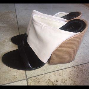 Chloe slide wedge heel size 39